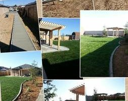 Photo #24: Torres Landscaping and Concrete (sprinklers system, sod, plants/concrete curbing, colored concrete)
