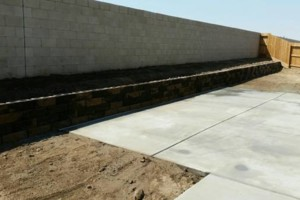 Photo #23: Torres Landscaping and Concrete (sprinklers system, sod, plants/concrete curbing, colored concrete)