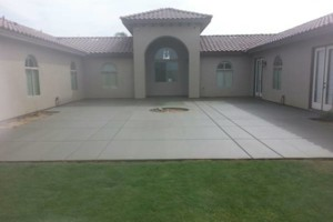 Photo #16: Torres Landscaping and Concrete (sprinklers system, sod, plants/concrete curbing, colored concrete)