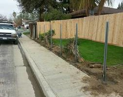 Photo #10: Torres Landscaping and Concrete (sprinklers system, sod, plants/concrete curbing, colored concrete)