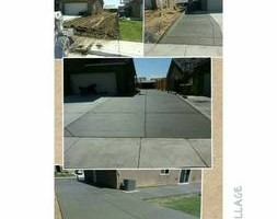 Photo #7: Torres Landscaping and Concrete (sprinklers system, sod, plants/concrete curbing, colored concrete)