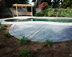 Photo #3: Torres Landscaping and Concrete (sprinklers system, sod, plants/concrete curbing, colored concrete)