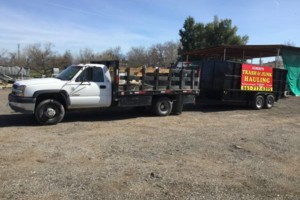 Photo #1: Albert's Junk Hauling (Free Estimates & Licensed)