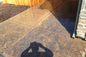 Photo #3: West Coast Custom concrete work - Countertops, Driveways, Foundations