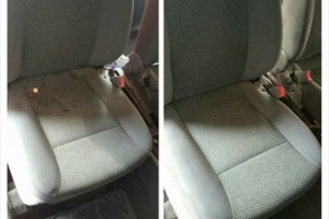 Photo #1: Tony's Auto detailing (mobile) - carpet and seats shampoo, wax, buff, motor cleaning