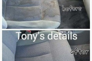Photo #3: Tony's Auto detailing (mobile) - carpet and seats shampoo, wax, buff, motor cleaning