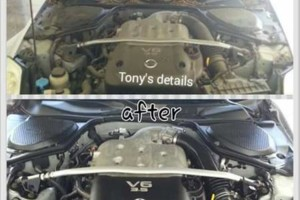 Photo #9: Tony's Auto detailing (mobile) - carpet and seats shampoo, wax, buff, motor cleaning