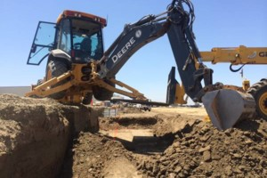 Photo #4: Backhoe ( excavation/Demo/pool abandonment)