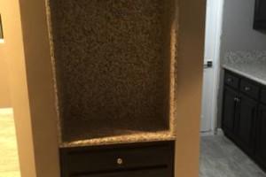 Photo #9: Junior custom construction. Kitchen cabinets & granite