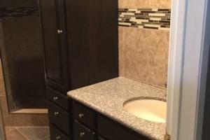 Photo #7: Junior custom construction. Kitchen cabinets & granite