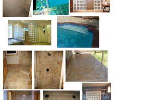 Photo #1: TILE INSTALATION (swimming pool tile)