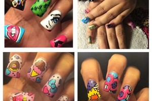 Photo #1: Nails full set for reasonable prices!