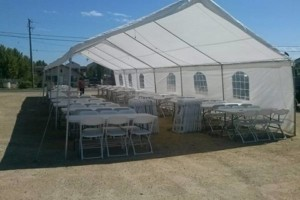 Photo #9: Party rentals! Jumpers, bounce house, tables, chairs, waterslides, canopies