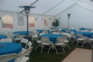 Photo #8: Party rentals! Jumpers, bounce house, tables, chairs, waterslides, canopies