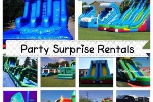 Photo #4: Party rentals! Jumpers, bounce house, tables, chairs, waterslides, canopies