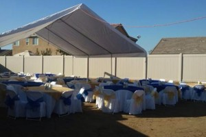 Photo #3: Party rentals! Jumpers, bounce house, tables, chairs, waterslides, canopies