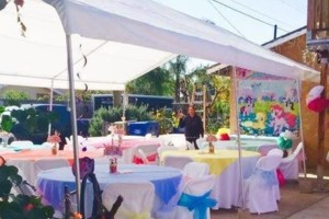 Photo #2: Party rentals! Jumpers, bounce house, tables, chairs, waterslides, canopies