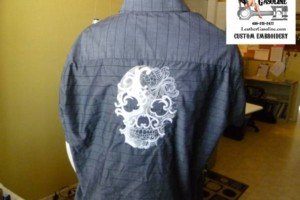 Photo #1: Custom embroidery by Leather & Gasoline