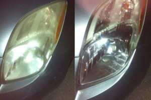 Photo #1: Headlight restoration $20!!! I'll come to you!