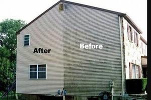 Photo #1: Home PRESSURE WASHING. Just Driveway - $40
