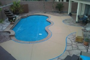 Photo #14: CONCRETE SIDE JOBS - FREE ESTIMATES! Concrete Staining, Tile and Granite, Leveling, Grading