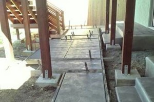 Photo #9: CONCRETE SIDE JOBS - FREE ESTIMATES! Concrete Staining, Tile and Granite, Leveling, Grading