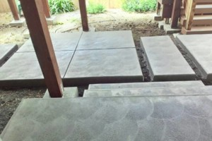 Photo #7: CONCRETE SIDE JOBS - FREE ESTIMATES! Concrete Staining, Tile and Granite, Leveling, Grading