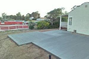 Photo #5: CONCRETE SIDE JOBS - FREE ESTIMATES! Concrete Staining, Tile and Granite, Leveling, Grading