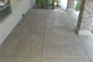 Photo #2: CONCRETE SIDE JOBS - FREE ESTIMATES! Concrete Staining, Tile and Granite, Leveling, Grading