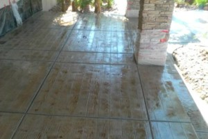Photo #1: CONCRETE SIDE JOBS - FREE ESTIMATES! Concrete Staining, Tile and Granite, Leveling, Grading