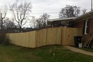 Photo #8: Fence crews. Wood-vinyl-chainlink & aluminum fences