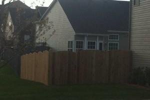 Photo #7: Fence crews. Wood-vinyl-chainlink & aluminum fences