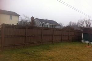 Photo #6: Fence crews. Wood-vinyl-chainlink & aluminum fences