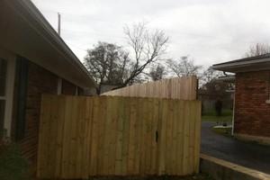 Photo #3: Fence crews. Wood-vinyl-chainlink & aluminum fences