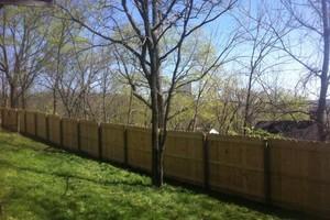Photo #2: Fence crews. Wood-vinyl-chainlink & aluminum fences