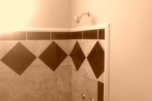 Photo #3: Custom tile work by Larry & Amy