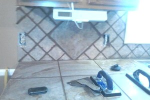 Photo #4: Custom tile work by Larry & Amy