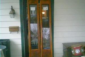 Photo #3: Furniture, doors, trim, floors Historical Refinishing and Preservation