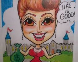 Photo #4: Fun Party Entertainment - Face painting and Caricatures