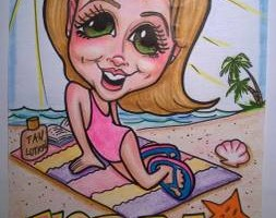 Photo #6: Fun Party Entertainment - Face painting and Caricatures