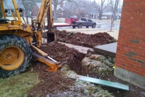Photo #7: MDE Construction Co. -  Sewer line, Drainage system install...