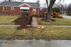 Photo #8: MDE Construction Co. -  Sewer line, Drainage system install...