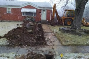 Photo #9: MDE Construction Co. -  Sewer line, Drainage system install...