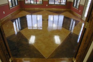Photo #1: Polished Concrete Floors by Centric Concrete Epoxy