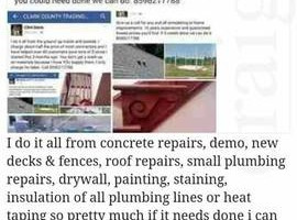 Photo #1: Cheap quality work - remodeling or home improvements