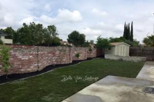 Photo #13: Bella Vista Landscape - retaining walls, sod, drip/sprinkler system