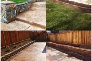 Photo #3: Bella Vista Landscape - retaining walls, sod, drip/sprinkler system