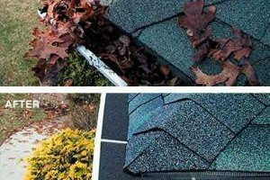 Photo #6: GIBSON RAIN GUTTERS (installation, repair, screen)