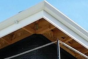 Photo #2: GIBSON RAIN GUTTERS (installation, repair, screen)