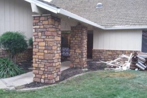 Photo #1: Isaias Masonry - houses, backyards, frontyards